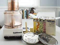 Vintage Cuisinart DLC-X 20 Cup Commercial Food Processor with 11 blades