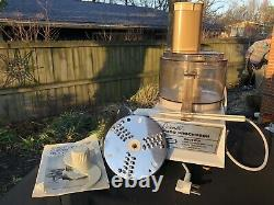 Vintage Cuisinart Food Processor CFP-5 Made In France by Robot Coupe Tested