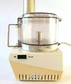 Vintage Robot Coupe RC2000 Food Processor W Accessories professional cuisinart