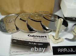 Vtg CUISINART DLC-X Plus 20 Cup Food Processor in Excellent Working Condition